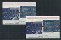 Bund Block 43 postfrisch (2 Stück) BRD 1986-1985 50 Jahre Parlamentarischer Rat