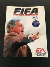 FIFA SOCCER MANAGER 97, (EA, 1997, PC CD ROM Game) Pre-owned Untested