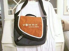 NEW Vemma Orange & Black Messenger Shoulder Carrying Bag Laptop/Notebook/Tablet