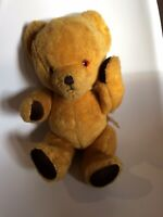 Vintage 32cm jointed Teddy bear by NYLENA made in England