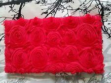Pochette sac H&M chaîne rose fushia Garden collection neuve mariage soirée blog