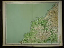 1903 MAP ~ NEW QUAY BODMIN WADEBRIDGE CORNWALL CAMELFORD & VILLAGES