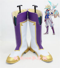 League of Legends LOL Ezreal Star Guardian Boots Cosplay Shoes