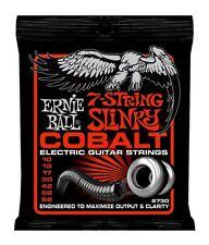 3 Pack! Ernie Ball 2730 7 String Slinky Cobalt Electric Guitar Strings 10-62
