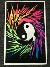 LW7 J POSTER YIN YANG FREE SHIPPING PSYCHEDELIC :  EXPAND YOUR  MIND