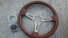 JDM Baruni Wood Steering Wheel was mounted to Mazda MX5 Miata NA6 NA8