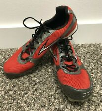 Men's Brooks Surge Track Shoes with Spikes SZ 10 Black/Red
