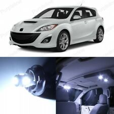 12 x White LED Interior Lights Package For 2010 - 2018 Mazda 3 MS3 + PRY TOOL