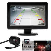 """170°  vision nocturne Caméras de recul voiture+4.3"""" LCD moniteur vue arrière"""