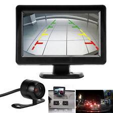 """170° HD vision nocturne Caméras de recul voiture+4.3"""" LCD moniteur vue arrière"""