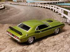 426 HEMI V8 MOPAR 1971 71 DODGE CHALLENGER R/T GREEN 1/64 SCALE LIM. ED. B51