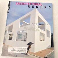 Architectural Record Magazine Blurring Boundaries April 2009 070217nonrh