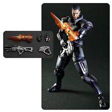 "Play Arts Kai ~ Mass Effect 3 ~ COMMANDER SHEPARD ~  81/2"" Action Figure"