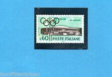 OLYMPIA 1896-1972-PANINI-Figurina n.46-A- Riproduzione francobollo -Rec