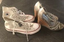 Converse and coach Size 6