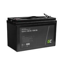 LiFePO4 Battery 100Ah 12.8V 1280Wh Lithium Iron Phosphate Caravan Photovoltaic