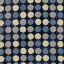 Janet Clare Aubade Sun in Day Navy Blue 1423 21 Moda Quilting Cotton Fabric