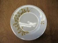 "MSE Martha Stewart MAIDENHAIR FERN YELLOW Dinner Plate 11 1/2"" 1 ea  6 available"