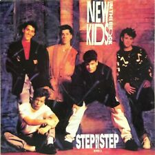 "NEW KIDS ON THE BLOCK 'STEP BY STEP' PICTURE SLEEVE 7"" SINGLE BLOCK 6"