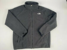 The North Face Mens Black Warm Fleece Zip Up Jacket XL Hiking Outdoors