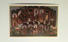 Lantern Press - Large Letters - Rehoboth Beach, Delaware