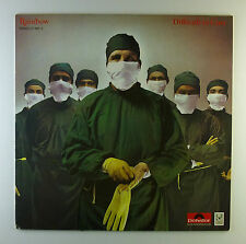 "12"" LP - Rainbow - Difficult To Cure - A2840 - washed & cleaned"