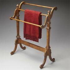 Beaumont Lane Blanket Rack in Vintage Oak
