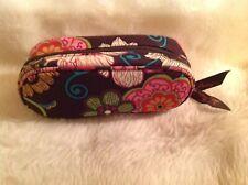 Vera Bradley sunglasses/eyeglasses brown textile print case only