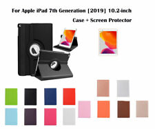 360 Rotate Leather Case Cover for Apple iPad 7th Gen 10.2-inch A2197,A2200