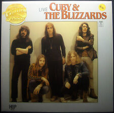 LP CUBY & THE BLIZZARDS - live, nm