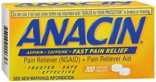 Anacin Tablets 300 Tablets (Pack of 6)