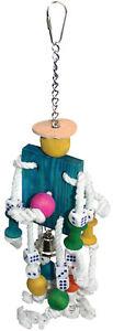 Avi One Hanging Parrot Bird Toy - Mr Robot Dice Bell