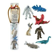 Toob Cryptozoology Tube Safari Yeti Bigfoot Loch Ness Monster Jackalope Kraken
