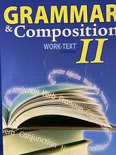 Abeka 8th grade English Grammer & Composition