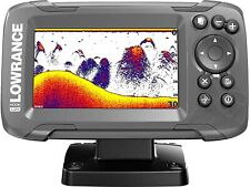 """4"""" Freshwater Fish Finder with Gps Saltwater Boat Fishing Depth Tracker Locator"""