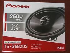 "PAIR PIONEER TS-G6820S 6X8"" 5X7"" 2-WAY COAXIAL SPEAKERS 250 WATTS MAX TSG6820S"