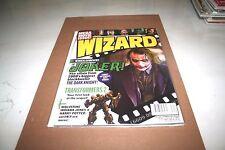 1x Wizard Magazine EXCLUSIVE THE JOKER   Heath Ledger