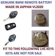 RECHARGEABLE BATTERY BMW 3 5 SERIES E46 E39 VL2020 REMOTE KEY PANASONIC JAPAN