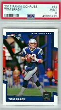 2017 PANINI DONRUSS TOM BRADY #64 PSA 9 MINT NEW ENGLAND PATRIOTS