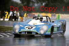 Graham Hill Matra MS670 Winner Le Mans 1972 Photograph 1