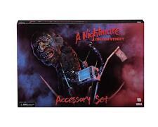 NECA A Nightmare On Elm Street Accessory Set Freddy Krueger Worm TV IN STOCK