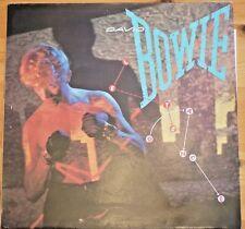 Rare David Bowie Lets Dance EMI America Uk LP AML3029 Lyric Sleeve Complete EX