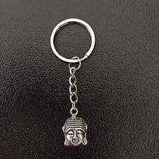 New Customised Silvertone Small Buddha  Charm Key Chain7 cm Gift