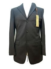 Marks & Spencer Collezione Black Italian Fabric Suit - 36in Chest 30in Waist
