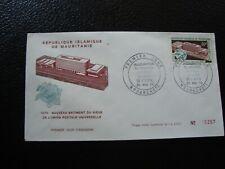 MAURITANIE - enveloppe (tachée) 1er jour 20/5/1970 (B18)