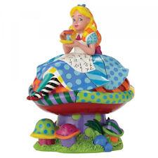 Disney Britto Alice In Wonderland Figurine 4049693 - Brand New & Boxed