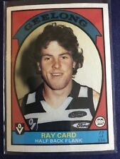 Afl Vfl Scanlens Ray Card Trading Card Geelong Excellent