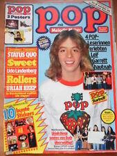 POP 6 - 1978 (2) Leif Garrett Rod Stewart Maggie Me Ian Mitchell - Poster Smokie