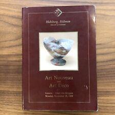 Habsburg, Feldman 1989 Auction Catalog ART NOUVEAU & ART DECO