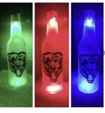 Chicago Bears Led Bottle Light Pub Bar Neon Sign Nfl